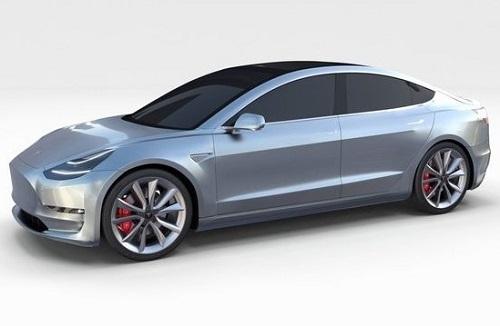 Spesifikasi dan Harga tesla Model 3 2017