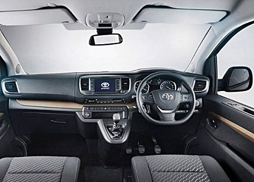 Desain New Toyota Hiace