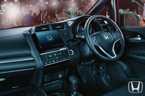 Interior New Honda Jazz Facelift