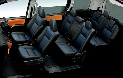 Interior Toyota Voxy