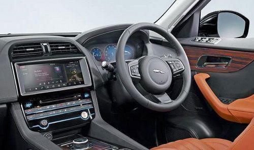 Harga jaguar f pace dan spesifikasi februari 2018 for Interieur jaguar f pace