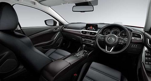Interior New Mazda 6 Estate