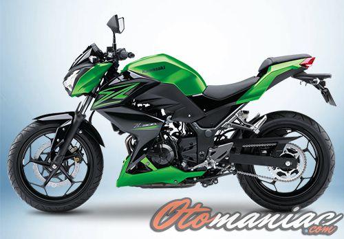 Motor Kawasaki Z250
