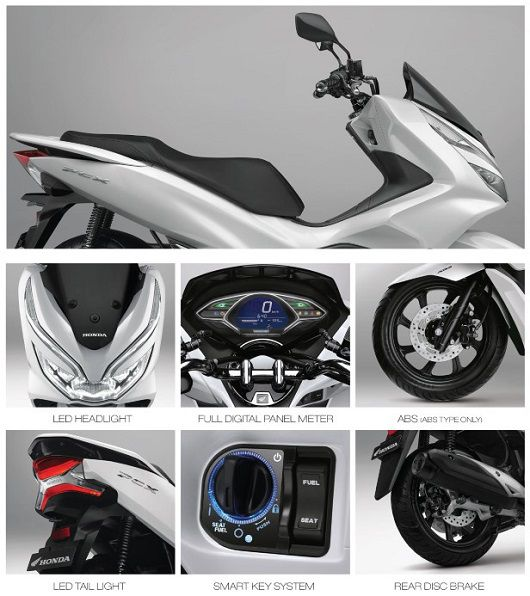 Fitur All New Honda PCX 150