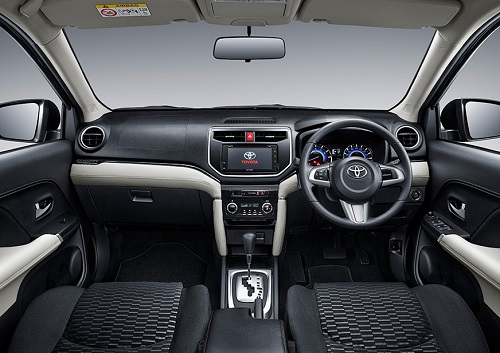 Interior All New Toyota Rush