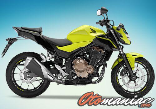 Gambar Honda CB500F