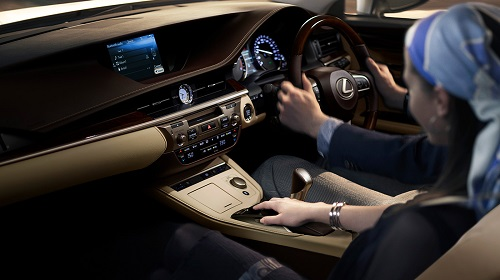 Interior Lexus Es 300h