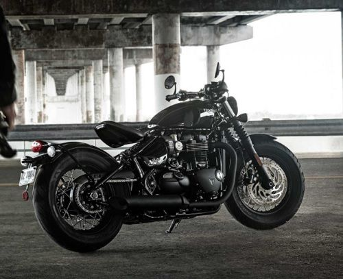 Review Triumph Bonneville Bobber