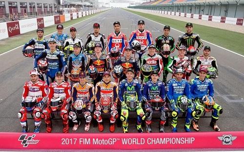 Daftar Nama 24 Pembalap MotoGP 2018