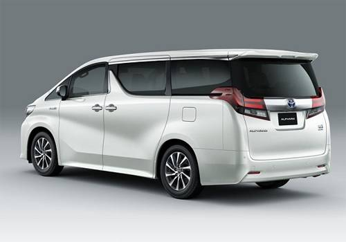 Harga Toyota Alphard Hybrid