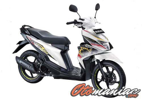 Desain Suzuki NEX II
