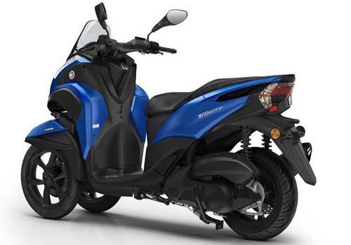 Review Yamaha Tricity 125