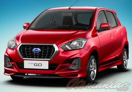 Eksterior All New Datsun Go