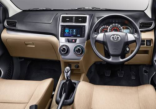 Fitur Interior Toyota Avanza