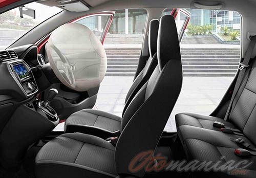 Gambar Interior All New Datsun Go