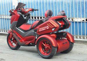 Modifikasi Yamaha NMAX Roda Tiga