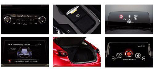Interior New Mazda 3 Speed
