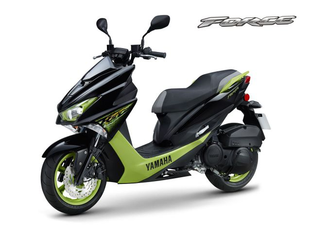 Warna Yamaha Force 155 Black Green