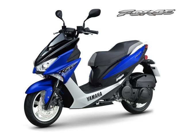 Warna Yamaha Force 155 Blue & White