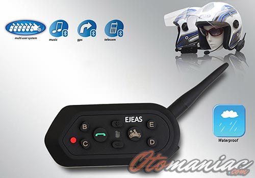 Intercom Helmet Ejeas E6