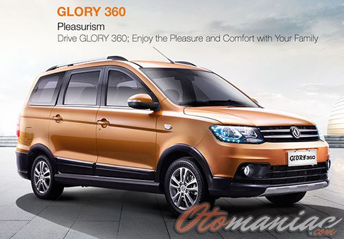 Harga Mobil DFSK Glory 360
