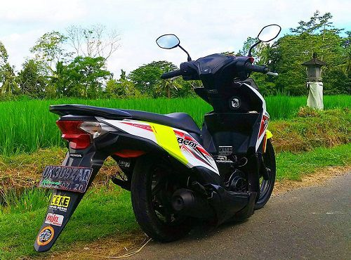 Modifikasi Honda Beat Ceper