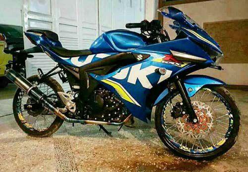 Modifikasi Suzuki GSX R150 Thailook