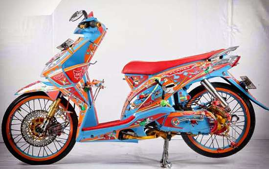 Airbrush Motor Honda Beat