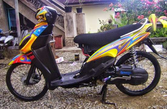 Foto Modifikasi Yamaha Mio Simple