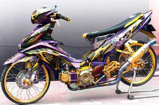 Modifikasi Jupiter Z Konsep Racing Thailook Road Race Terbaik 2020