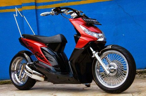 Modifikasi Honda Beat Exstreme