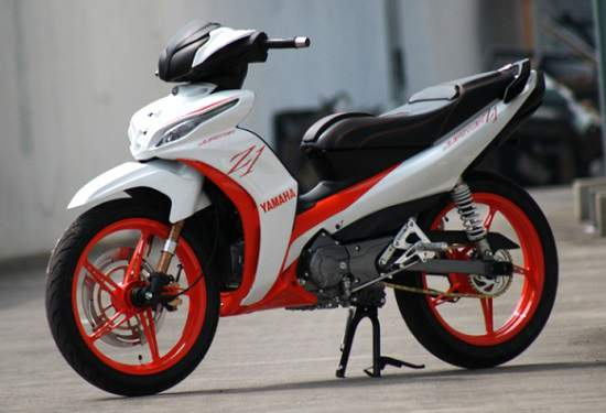 Modifikasi Jupiter Z Konsep Racing Thailook Road Race