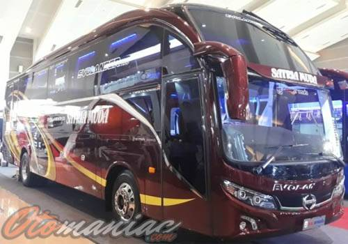 Karoseri Bus New Armada