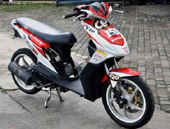 Modif Motor Honda Beat Road Race