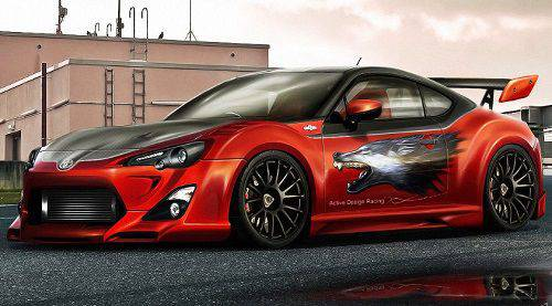 Modif Sedan Toyota 86