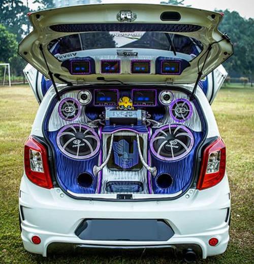 Modif Sound System Toyota Agya