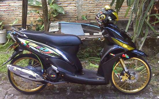 Modif Yamaha Mio Simple