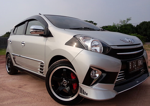 Modifikasi Body Kit Toyot Agya