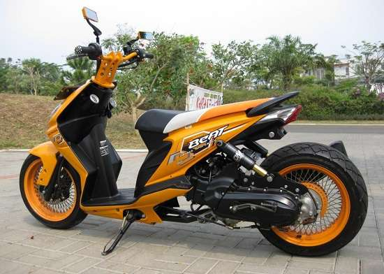 Modifikasi Honda Beat Extreme