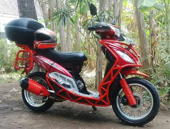 Modifikasi Mio Touring