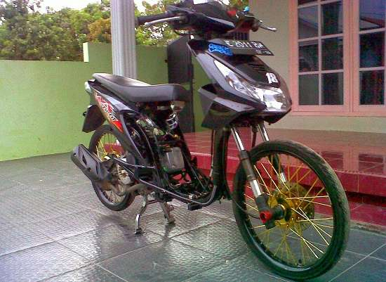 Modifikasi Motor Beat Drag
