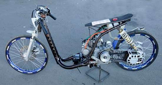 Modifikasi Motor Honda Beat Drag