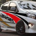 Modifikasi Toyota Agya Stiker