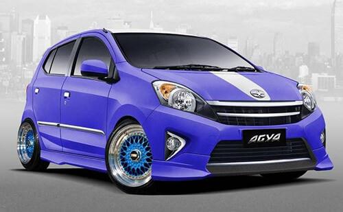 Modifikasi Velg Mobil Agya