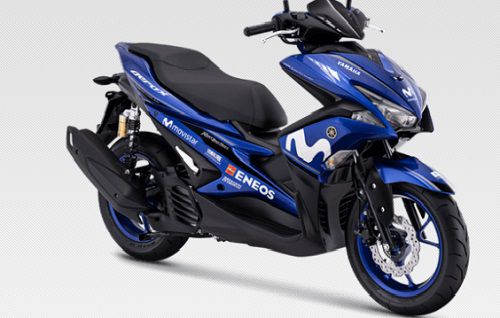 Modifikasi Yamaha Aerox Moto GP