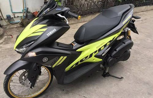 Modifikasi Yamaha Aerox Thai Look