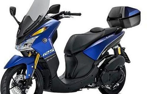 Modifikasi Yamaha Lexi 125 Touring