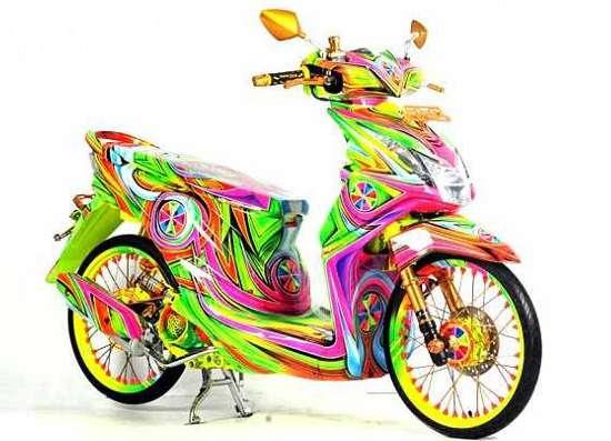 Moif Motor Beat Gaya Airbrush