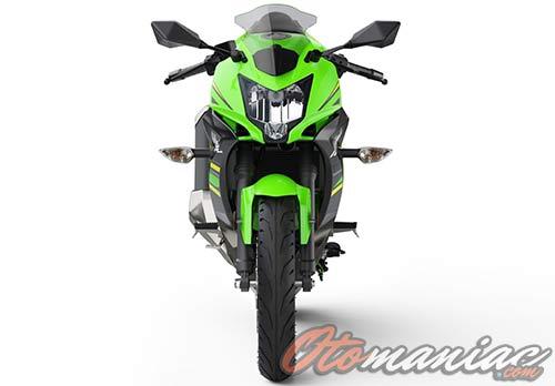 Tampak Depan Ninja 125