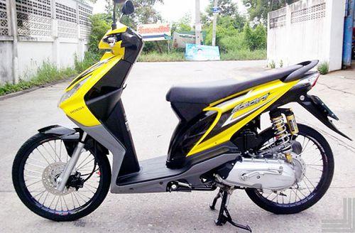 Modifikasi Honda Beat Thailook